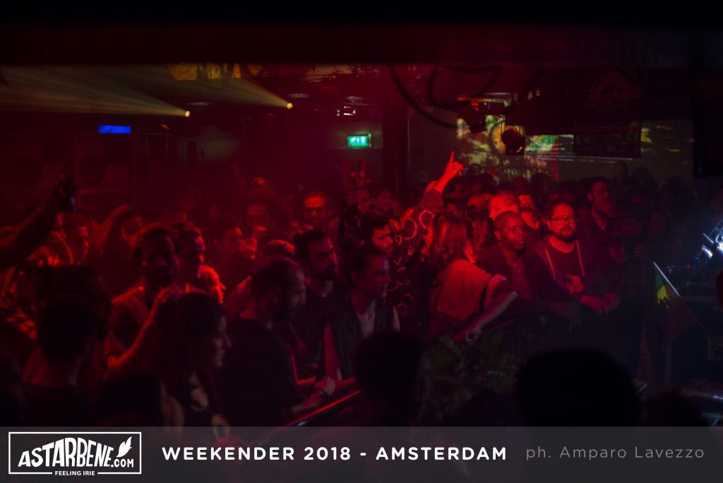 Amsterdam sound system Weekender 2018