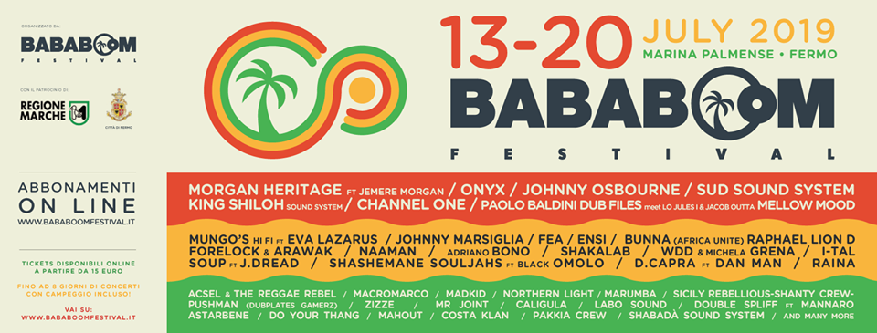 bababoom festival 2019 fermo italy